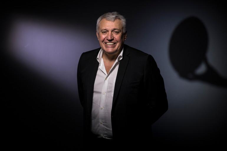 Claude Atcher, président de la coupe du monde de rugby 2023, le 13 novembre 2018.