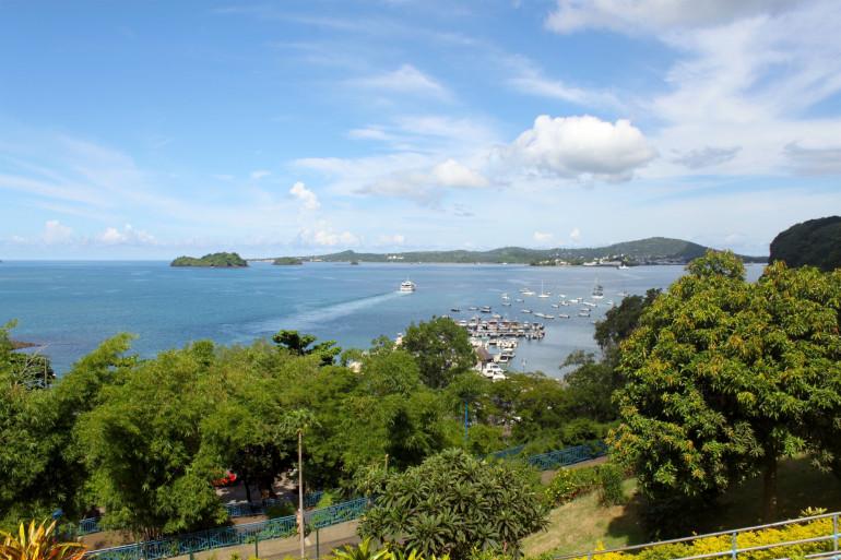 Une vue de Mayotte, le 3 avril 2017 (illustration)