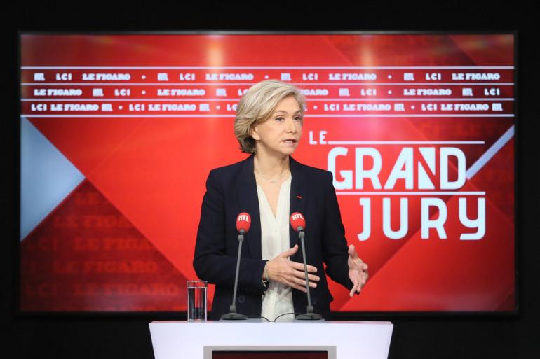 Valérie Pécresse était l'invitée du Grand Jury le dimanche 28 février