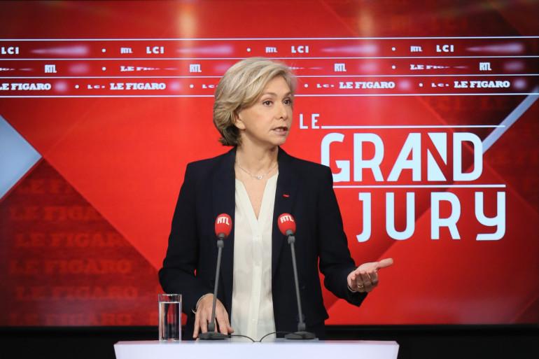 Valérie Pécresse, le 28 février 2021