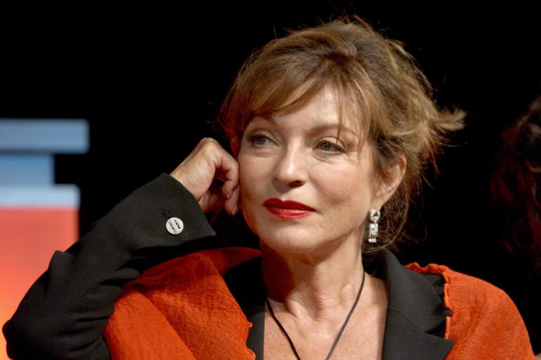 L'actrice Marie-France Pisier, lors du Festival du Cinéma Américain de Deauville, le 10 septembre 2007.