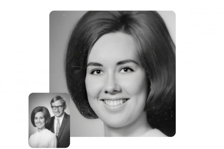 L'entreprise MyHeritage propose une service basé sur l'IA qui anime les visages sur les vieilles photos