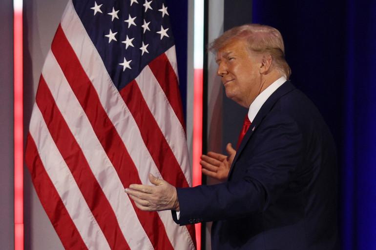 Donald Trump à Orlando, le 28 février 2021