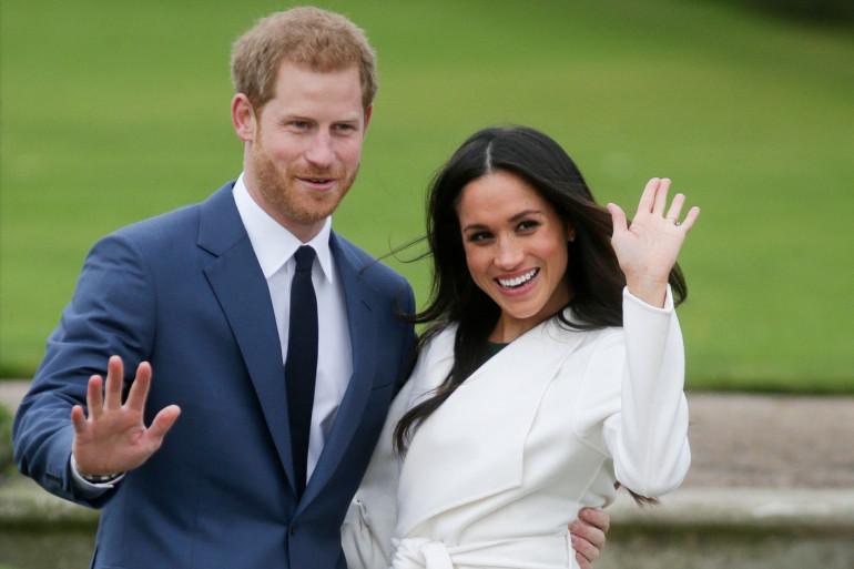 Harry et Meghan le 27 novembre 2017.