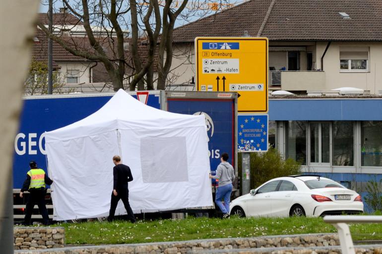 Des tests à la frontière franco-allemande