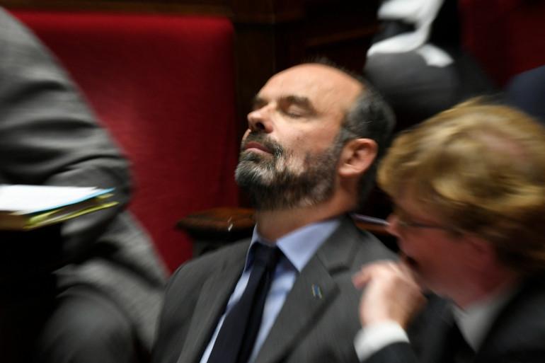 L'ancien Premier ministre Edouard Philippe, le 3 décembre 2019, à l'Assemblée nationale
