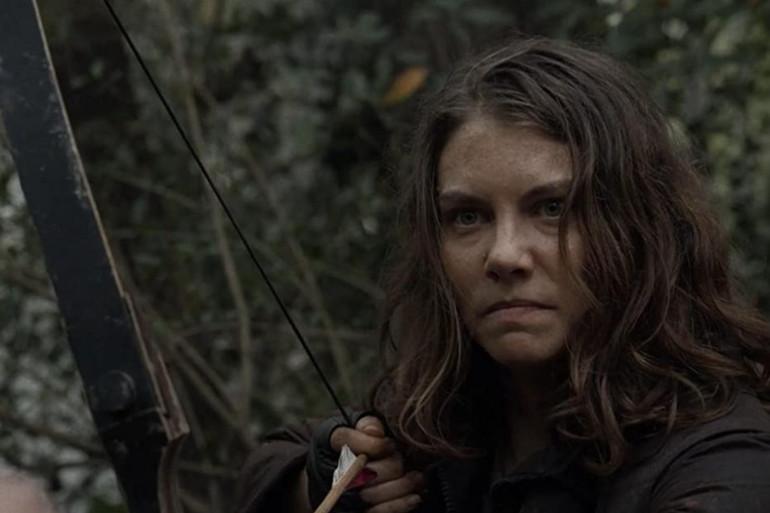 """Maggie prête à se battre dans """"The Walking Dead"""""""