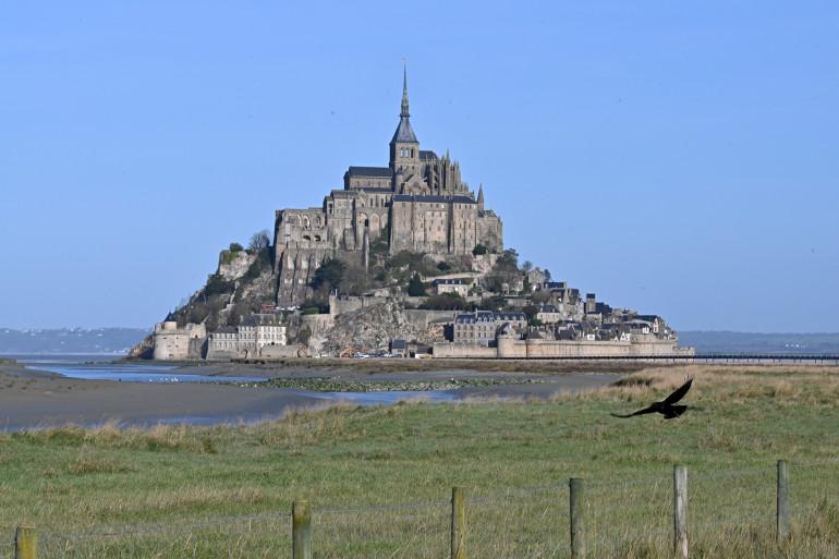 Le Mont-Saint-Michel (Manche), en Normandie.