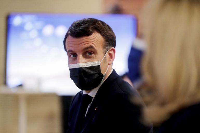Emmanuel Macron, le 18 février 2021