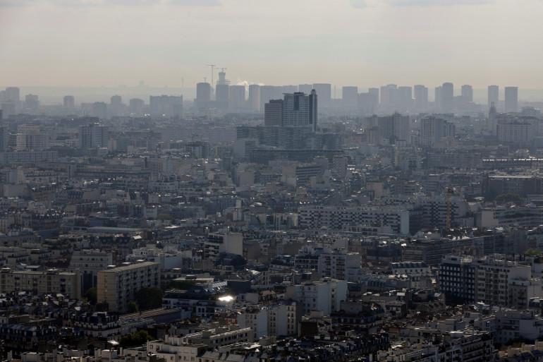 Un pic de pollution aux particules fines à Paris (illustration)