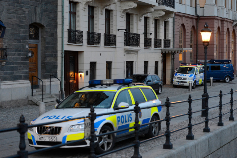 Des patrouilles de police en Suède (illustration).