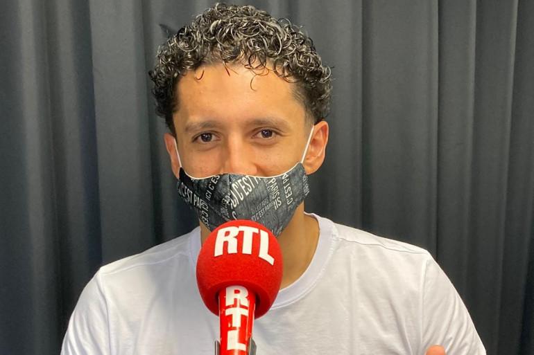 Marquinhos au micro RTL le 1er mars 2021