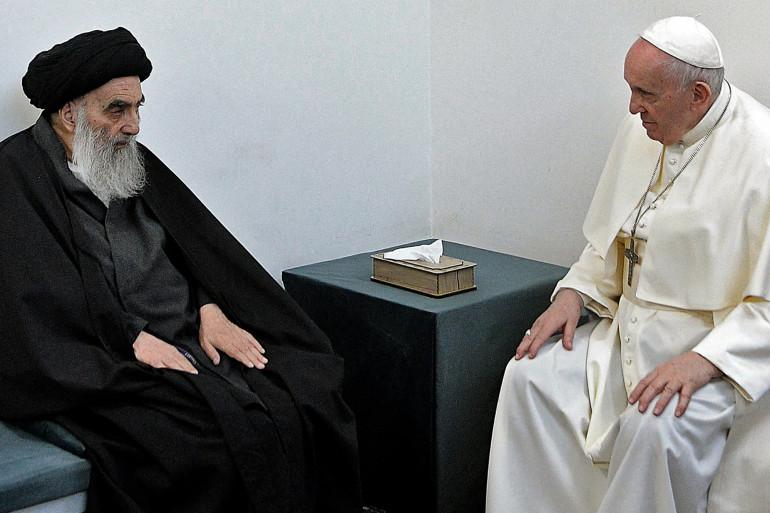 Le pape François a rencontré l'ayatollah Ali al-Sistani en Irak