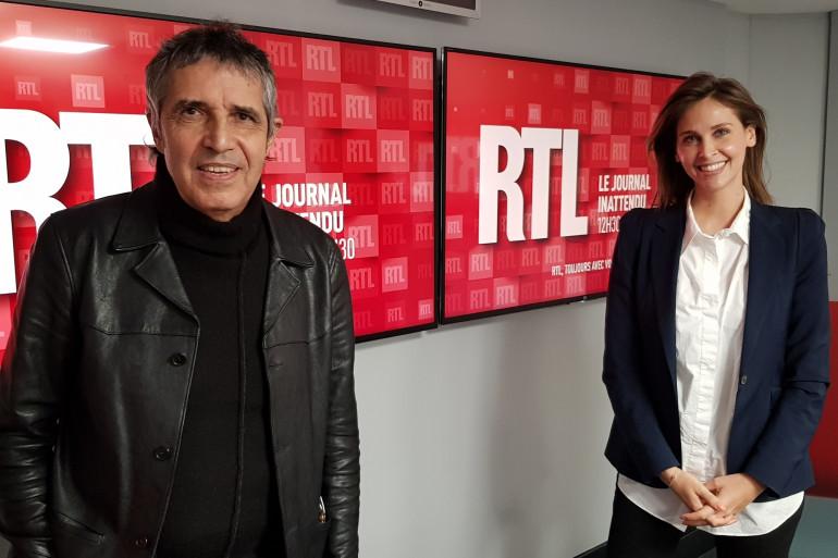 Julien Clerc et Ophélie Meunier dans le journal inattendu le 6 mars 2021