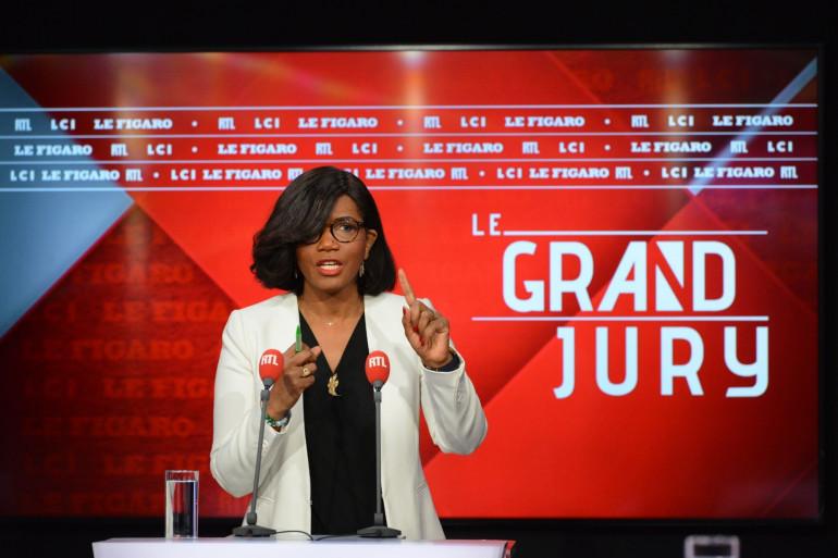 Élisabeth Moreno, ministre déléguée chargée de l'Égalité entre les femmes et les hommes, invité du Grand Jury le 7 mars 2021