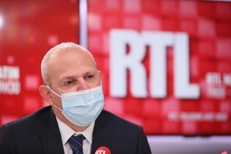 Jérôme Salomon était l'invité de RTL le 9 mars 2021