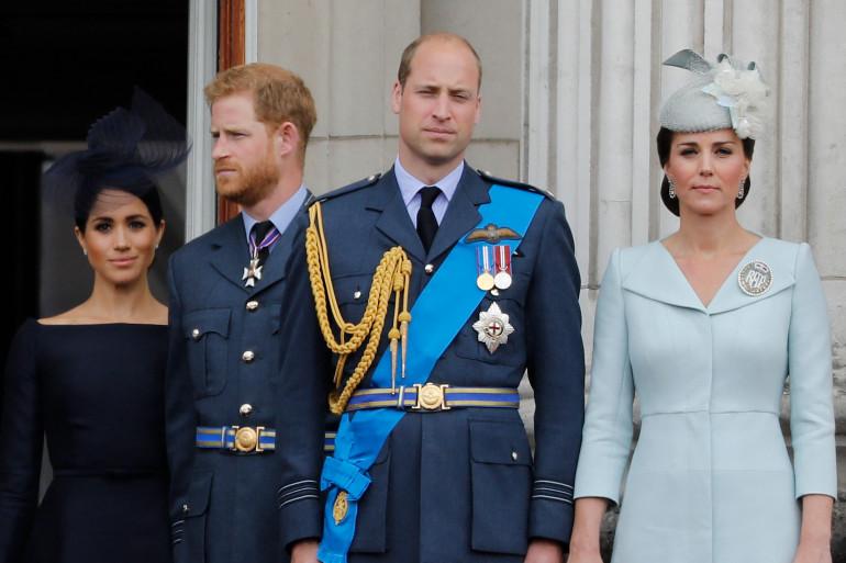 Meghan, Harry, William et Kate en juillet 2018
