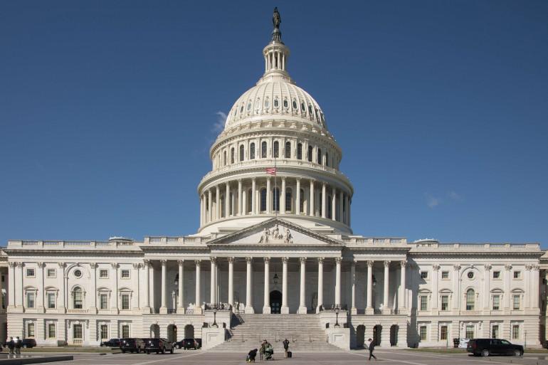 Une vue du Capitole, à Washington