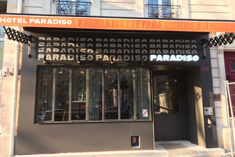 L'Hôtel Paradiso dans le XIIe arrondissement de Paris