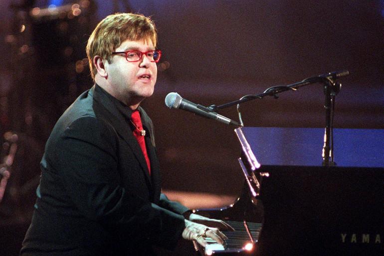 Elton John au Hammerstein Ballroom le 6 avril 200 à New York