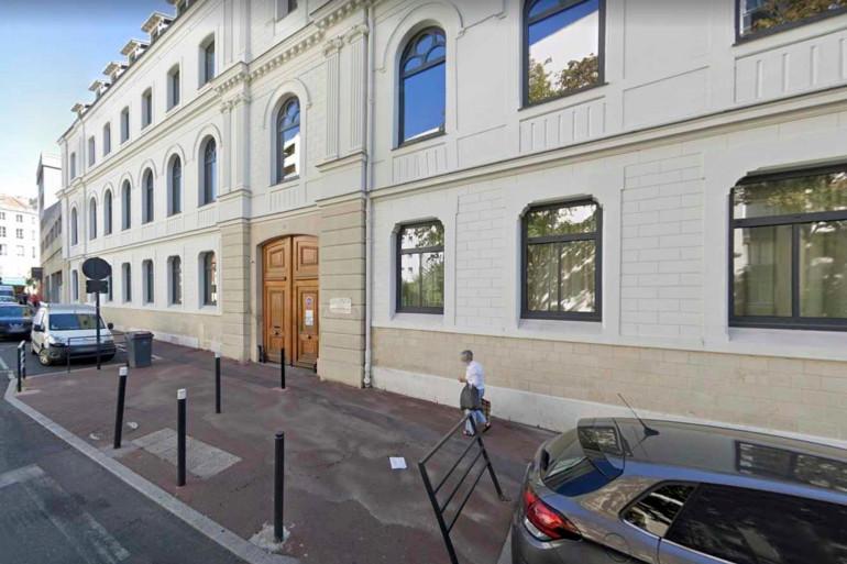 L'entrée du lycée Cognacq-Jay, à Argenteuil (illustration)