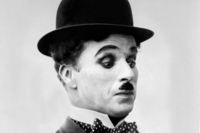 Une photo non-datée de l'acteur et réalisateur Charlie Chaplin