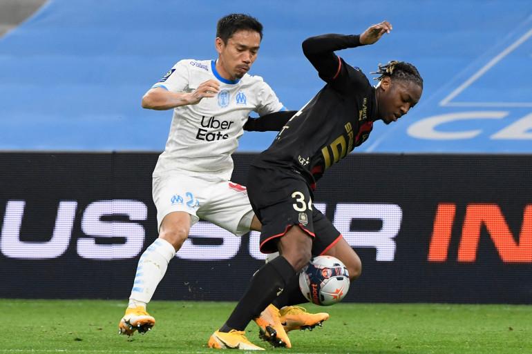 L'Olympique de Marseille s'est imposé face au Stade Rennais (1-0), le 10 mars 2021