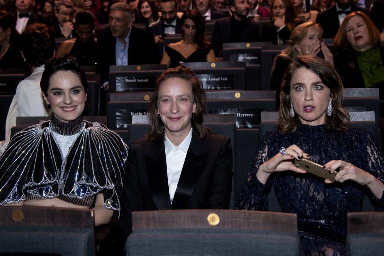 Noémie Merlant, Céline Sciamma et Adèle Haenel aux César en 2020