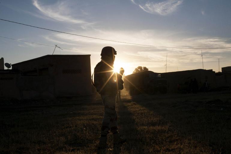 Un soldat de la Légion étrangère au Mali