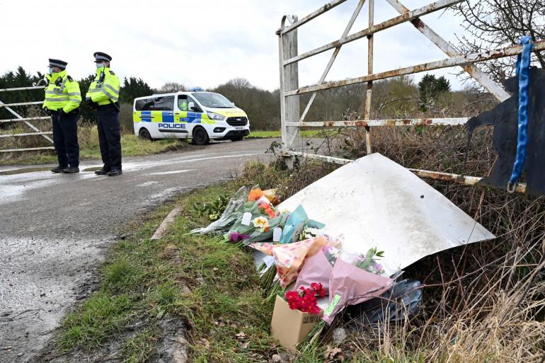 Des fleurs et des messages de condoléances après la mort de Sarah Everard à Londres
