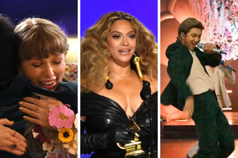 Taylor Swift, Beyoncé et BTS aux Grammys 2021