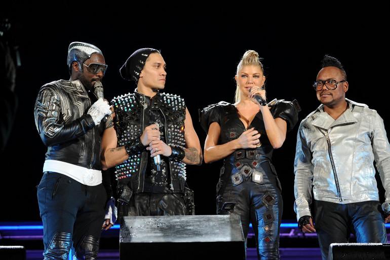 Les Black Eyed Peas le 30 septembre 2011 à New York