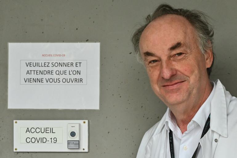 Professeur Bruno Lina, virologue et membre du Conseil scientifique (illustration)