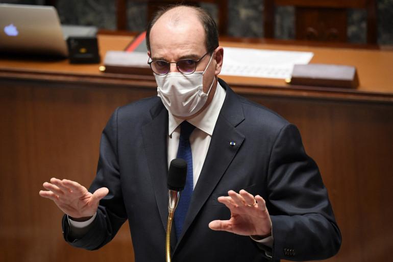 Jean Castex à l'Assemblée nationale, le 16 mars 2021
