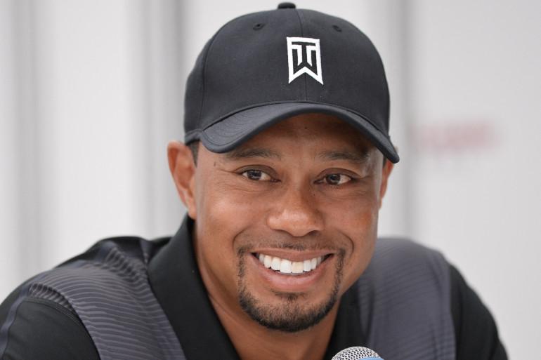Photo du golfeur américain Tiger Woods prise au Congressional Country Club à Bethesda, dans le Maryland le 24 juin 2014.