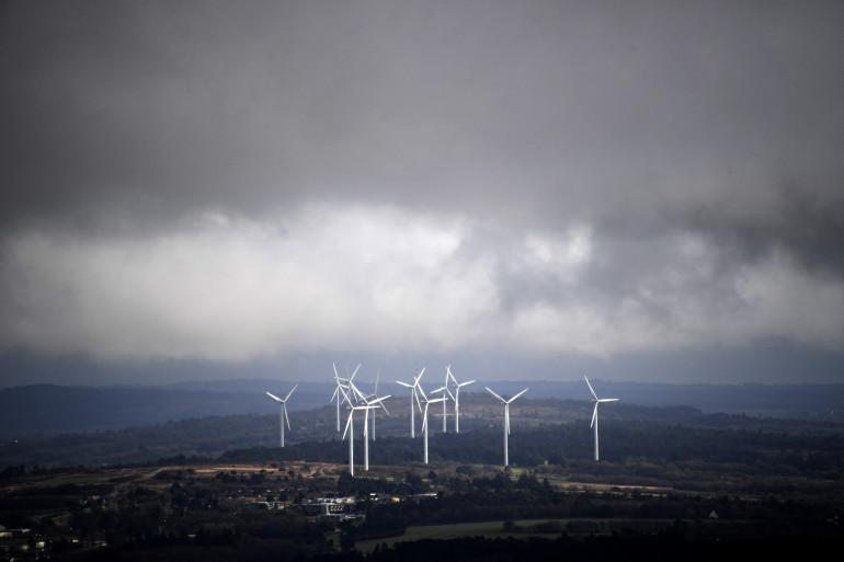 Les éoliennes de Plomodiern