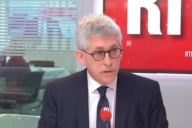 Frédéric Valletoux, président de la Fédération hospitalière de France