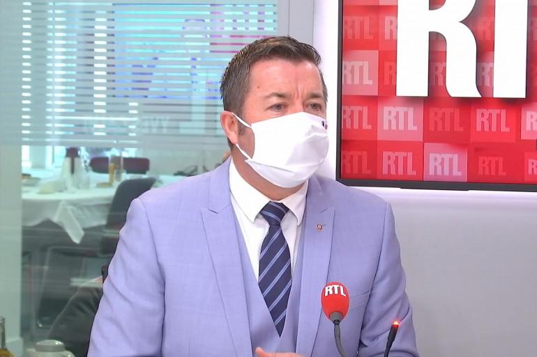 Karl Olive, maire (DVD) de Poissy, vice-président du conseil départemental des Yvelines