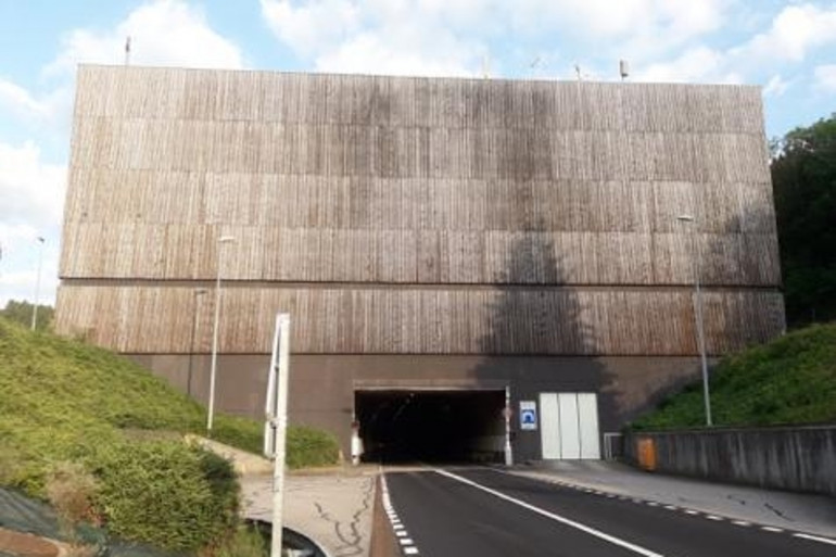 Le tunnel Maurice-Lemaire