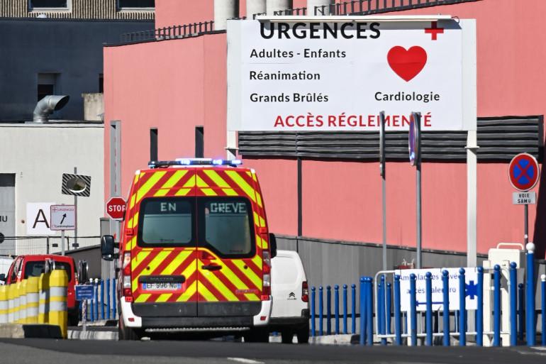 La section d'urgence de l'hôpital de Lille