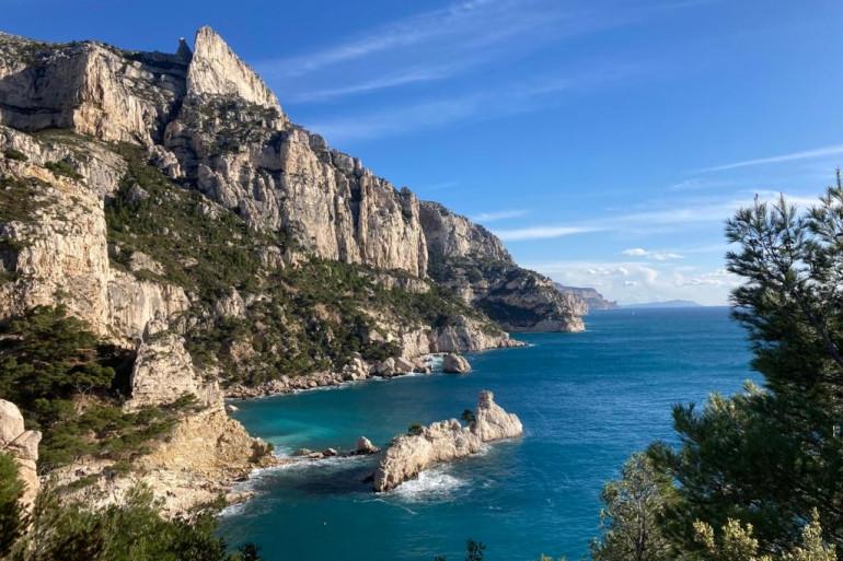 La calanque de Sormiou, près de Marseille