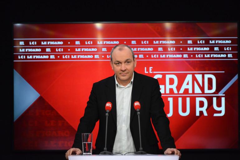 Le secrétaire général de la CFDT Laurent Berger était l'invité du Grand Jury ce dimanche 21 mars.