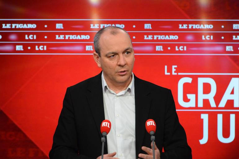 """Laurent Berger, invité du """"Grand jury RTL"""" le 21 mars 2021"""