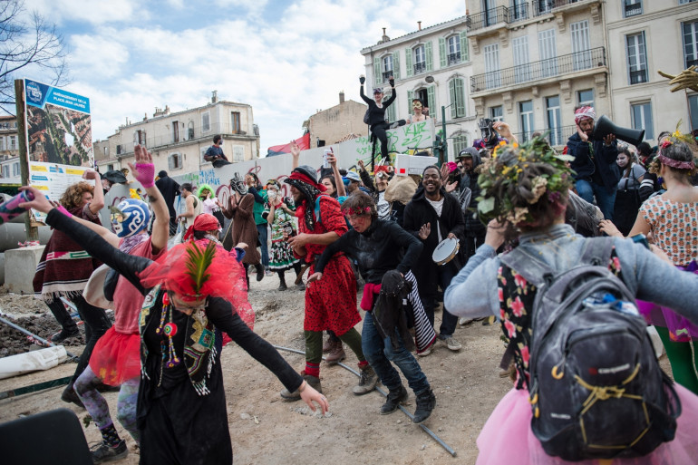 Le Carnaval de La Plaine, à Marseille, en 2019
