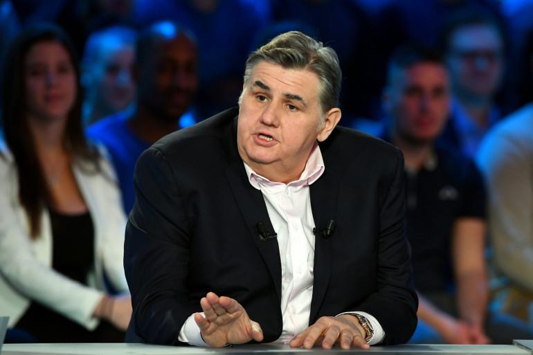 Le journaliste Pierre Ménès en 2016