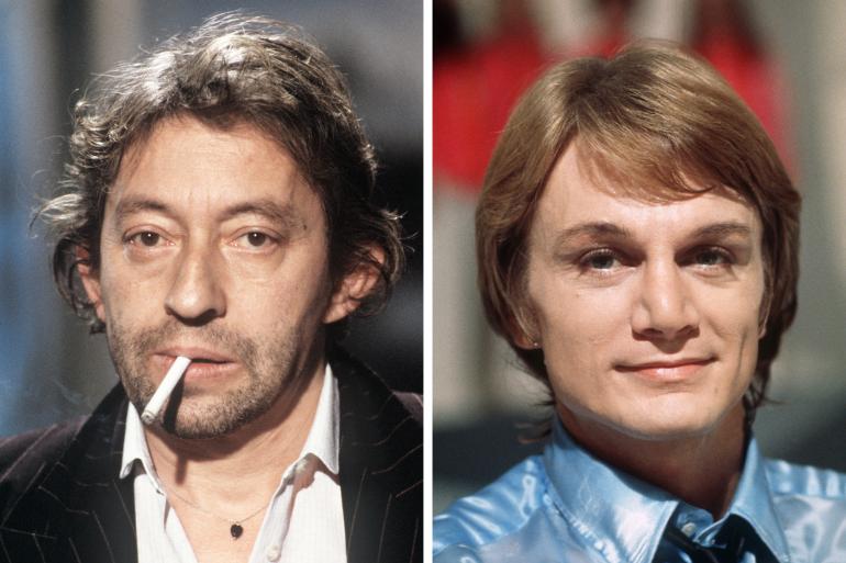 Serge Gainsbourg et Claude François