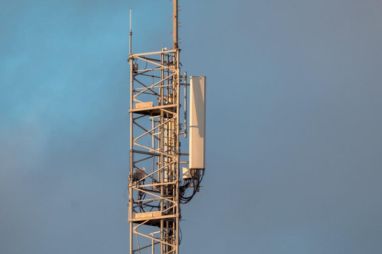 Une antenne-relais 5G en France (illustration)