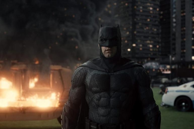 """Batman (Ben Affleck) dans """"Justice League"""" de Zack Snyder"""