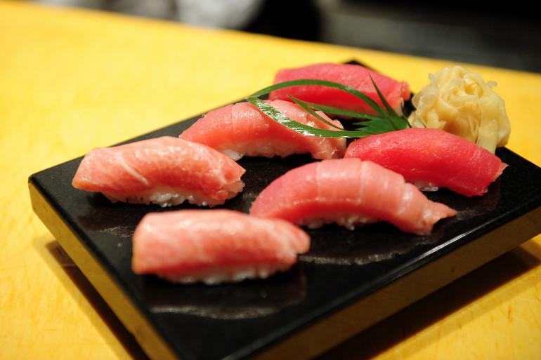 Des sushis (Illustration)