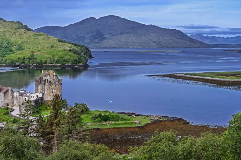 Les Highlands, en Écosse (Illustration)